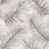 Behangexpresse Nubia (NU19142)beige grijs bladeren vlies_