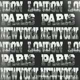 capitals of the world highlights city view papier_