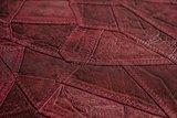 Arte Stitches ralph lauren type bloodred jeans relief vinyl op vlies  behang 5102-5_