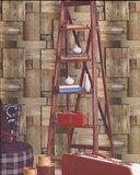 Houtstructuur behang 51151808_