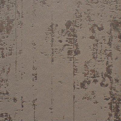stoer beton look vlies schuimvinyl donker taupe/bruin