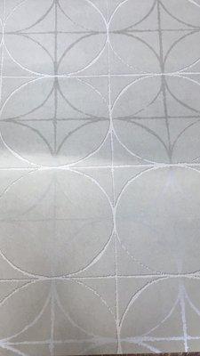 BN Wallcoverings Interior Affairs 218752 Grafisch grijs wit zilver