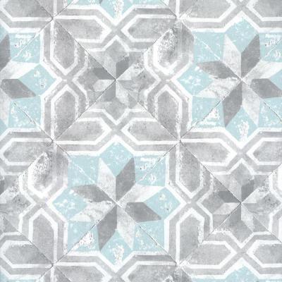 Retro L490-01 vliestegel mozaiek