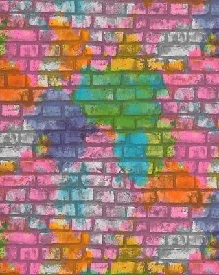 05232-20 grafitti stenen behang