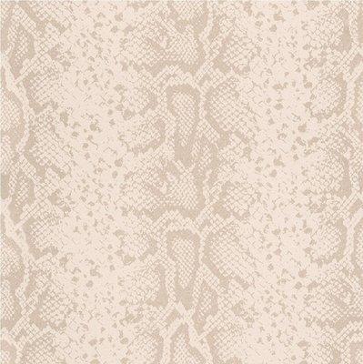 281019 slangenhuid met zachte glitter  CREME BEIGE
