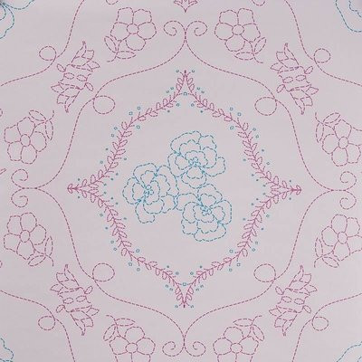 7241-6 flower barok vlies