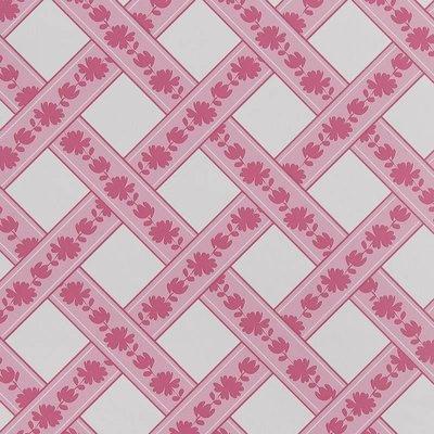 7240-4  floral squares vlies
