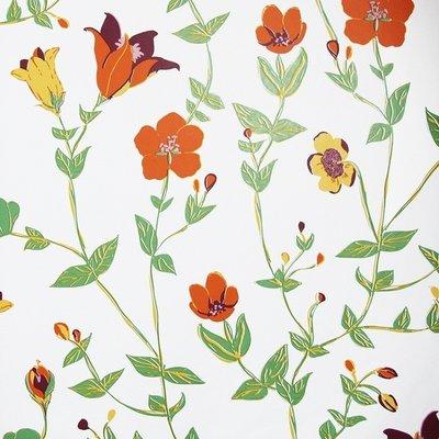 Vintage Chic Flowers 7235-1 vlies