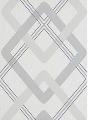 6956-10 novamur licht grijs grafisch patroon op vlies