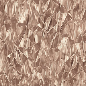 Dutch Wallcoverings Idea of Art 42511-40 metalic koper crushed crystal