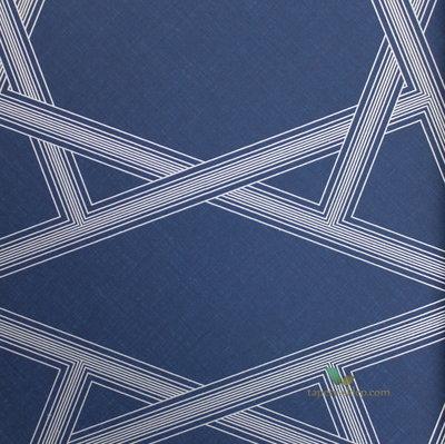 etten exclusive blauw zilver emiraten grafisch  3 e foto patroon in wit