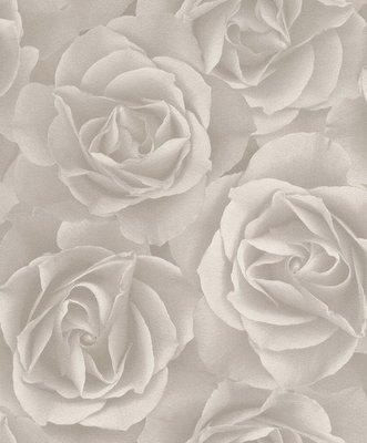 RASCH Crispy Paper 525601 rozen grijs vlies