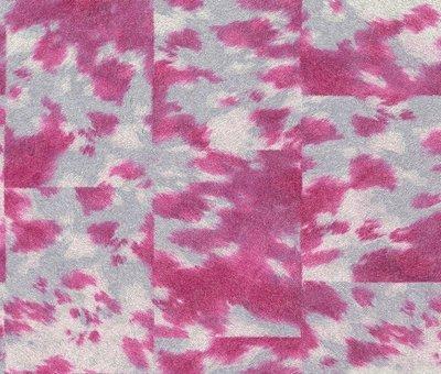 Rasch Uitverkoop 498226 roze koeienhuid vlies