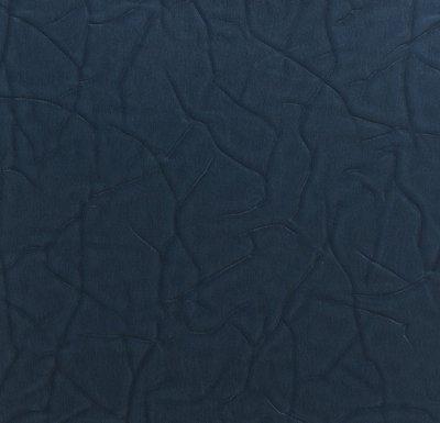 Rasch Uitverkoop 600215 blauw lederlook 70cm breed zwaar vinyl op vlies