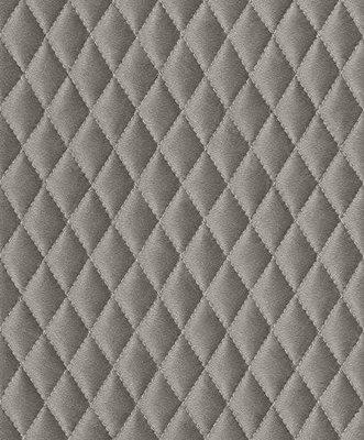Rasch Uitverkoop 861631 grijs gestikt leder optiek vlies