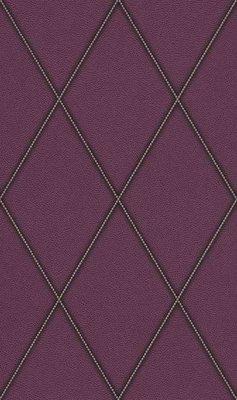 Rasch Uitverkoop 576580 violet zilver lederlook cosmopolitan vlies