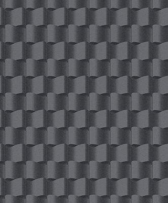 Rasch Uitverkoop 745269 abstract grafisch grijs vlies