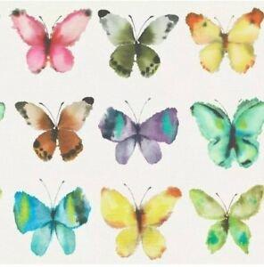 Rasch Uitverkoop 273601 metalic vlinders papier behang