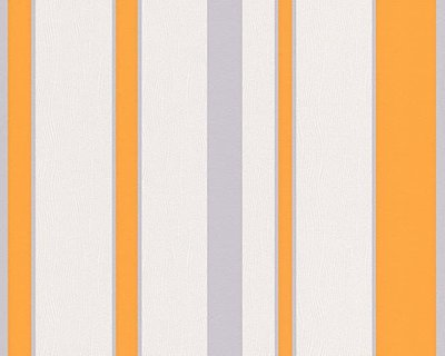 9472-22 grijs orange wit vlies streep as creations