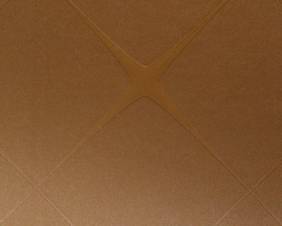 AS creation architects Paper hadi teherani vlies ruit cognac bruin met glitter