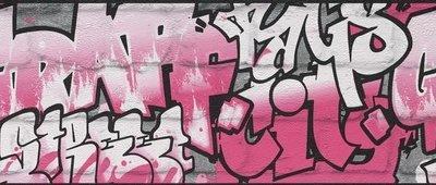 Rasch Kids Club 237917 Behangrand Graffiti
