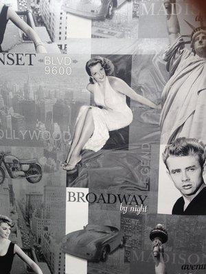 Rasch behang 257601 hollywood 50 e jaren