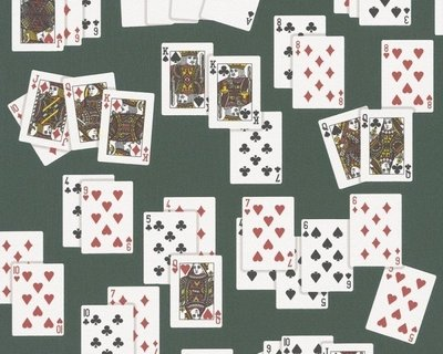 Poker behang