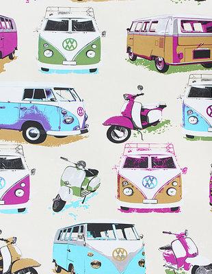 Dutch Be Different behang 1218-5 Volkswagen/vespa