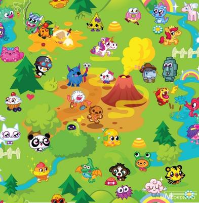 Moshi Monsters Mash Up Wallpaper 70-241