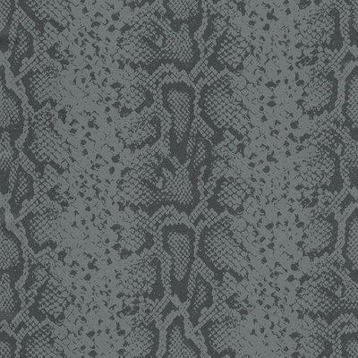 slangenprint behang met glitter 281033