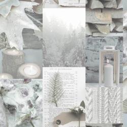 1 Scrapbook behang met romantische plaatjes Behangexpresse 23725