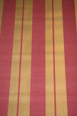 0 Damask strepen behang rood goud noordwand /4008