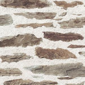 brick wall brown