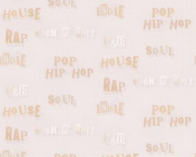 muziek stijlen behang