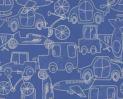 AS-CREATION Papierbehang 30449-1 Boys & Girls  cars/planes/bikes