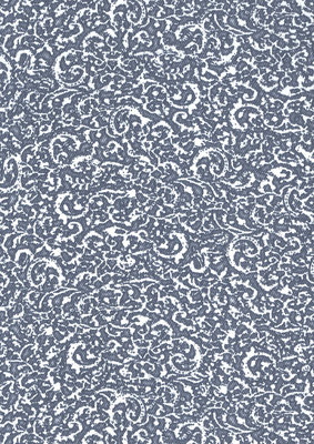 BN Denim behang 17614 linnen effect met blauw offwhite tijdloos patroon