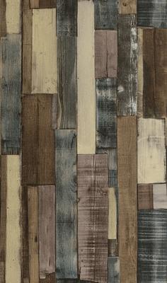 Rasch Behang 446760 trendy sloophout op vlies
