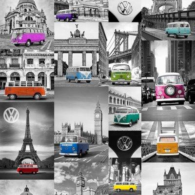 Volkswagen vlies B KEUS kleur auto is iets verschoven  foto is origineel niet de b keus