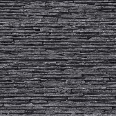 zwart/antaciet smalle steen b keus print iets onscherp