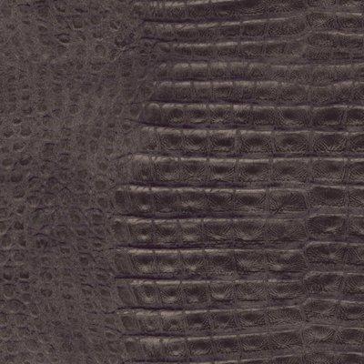 2S0205 2nd Skin Crocodile Skin donker koper taupeschitterende huid croco donkerrelief vinyl op vlies