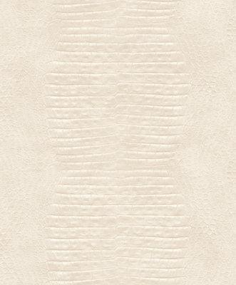 2S0206 2nd Skin Crocodile Skin beige schitterende huid croco beige relief vinyl op vlies
