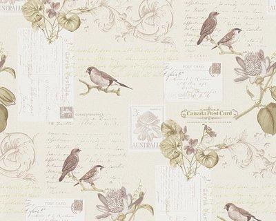 AS Creation Dekora Natur behang 95948-1 Vogels