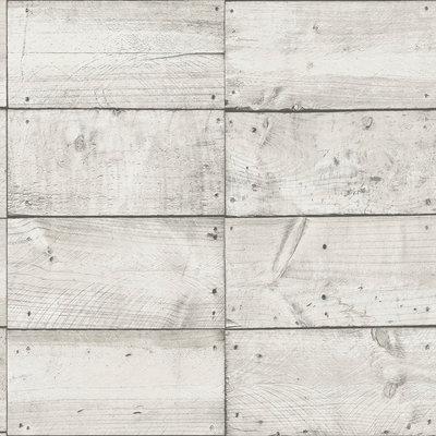 deco maison vlies hout  vak optiek