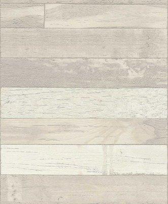 dubbel breed 1,06m sloophout horizontaal met taupe grijs hout tinten