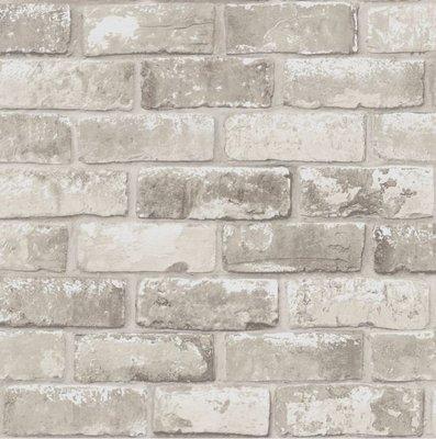 brick taupe steen licht metallic glans
