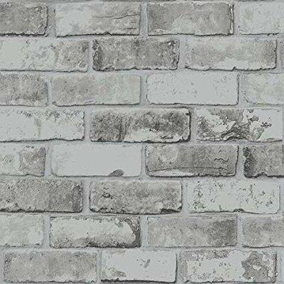 brick grey steen licht metallic glans