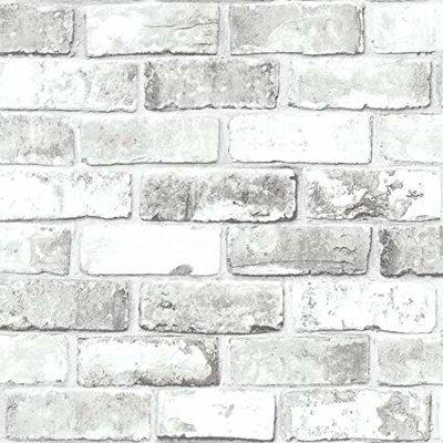 brick white steen licht metallic glans