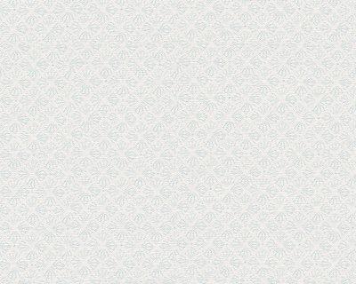 As Creation Oilily Atelier 30267-3 wit met zachtblauw patroontje