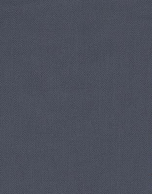 Effen, marineblauw vlieslbehang met een verticale streepjesstructuur.Behangexpresse 760-15