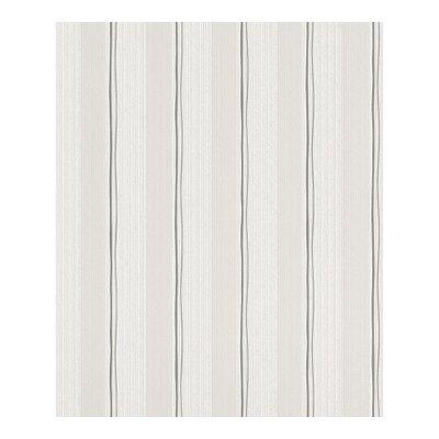 448443 rasch strepen wit met grijs vlies
